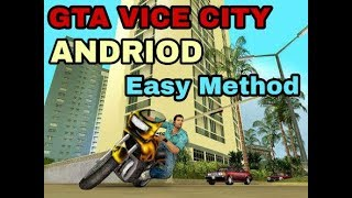 GTA VICE CITY || DOWNLOAD|| Very Easy Method