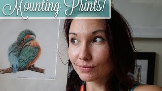 Q&A - How To Mount Your Prints!