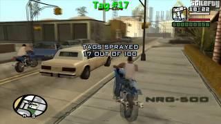 GTA San Andreas - 100 Tags Guide