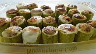 دلمه کدو سبز Stuffed Zucchini | Dolmeh Kadoo