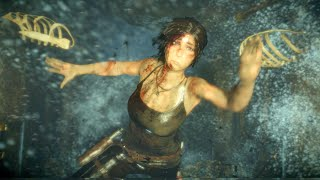Rise of the Tomb Raider Drowning Death Scene
