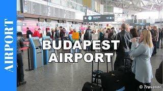 Inside Budapest Ferenc Liszt International Airport (BUD) - Budapest Airport - Ferihegy Airport