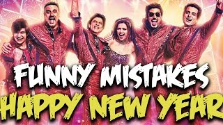 Everything Wrong With Happy New Year Movie | Funny Mistakes in Bollywood Movies | Episode #32