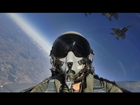watch COCKPIT VIEW of Powerful US Air Force A-10 and F-16 Military Aircraft