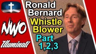 Ex Dutch Banker Ronald Bernard Exposes the ELITE, (Part 1,2,3)