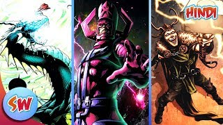 Top 5 Most Powerful Villians of Thor | Top 5 List in Hindi | Comics in Hindi