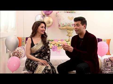 Xxx Mp4 Celebrating Madhuri Dixit Nene Birthday Ft Karan Johar Bucket List 3gp Sex