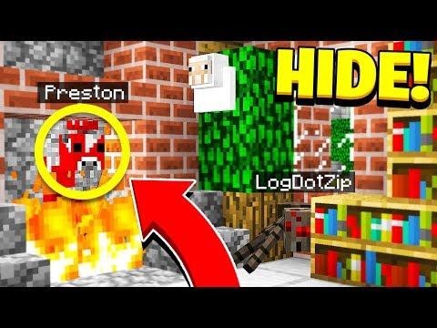 BEST HIDER EVER Morph Mod Hide & Seek Minecraft Mods