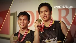 M. Ahsan/ Hendra S. (INDONESIA) VS Ko Sung/ Lee Yong Dae (SOUTH KOREA) Djarum Indonesia Open 2013