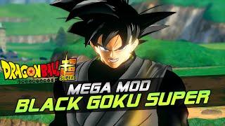 (MEGA-MOD) BLACK GOKU SUPER | Black Goku vs Future Trunks XENOVERSE