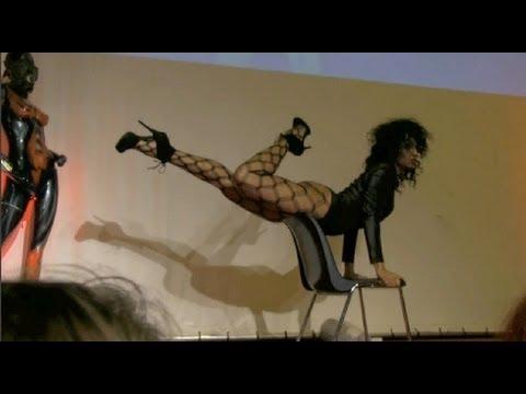 Dance chair coreography