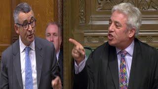 Bercow sparks FURY in Commons as he blocks Boris Johnson, Brexiteers slam Speaker on his partiality