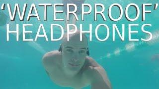 Best Waterproof Headphones? - Waterproof test - Waveport E