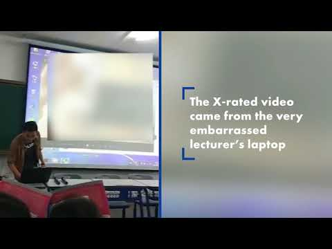 Xxx Mp4 Sex Video Accidentally Played From College Professor's Laptop 3gp Sex