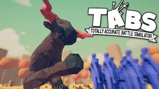 TABS - Giant Minotaurs and Greek Philosophers! - Totally Accurate Battle Simulator