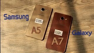 Samsung Galaxy A7 & A5 (2016) Hands Review in Bangla.