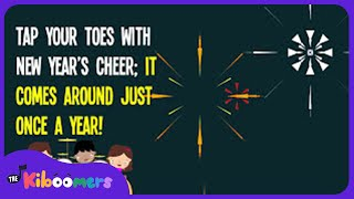 New Year Song for Kids | Happy New Year Song for Kids | The Kiboomers