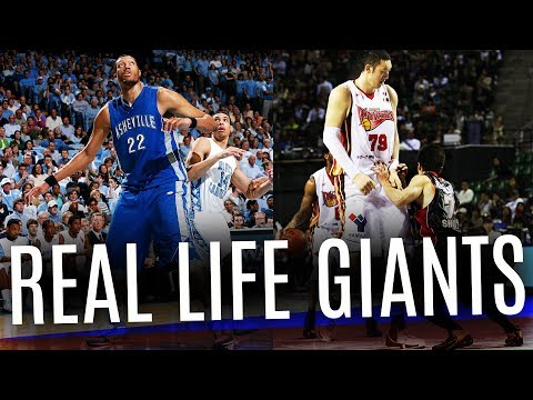 World s Tallest Basketball Players Ever Not in the NBA
