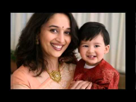 Madhuri Dixit Family Pictures