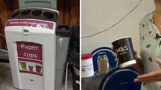 مشروع لإعادة تدوير أكواب القهوة وتحويلها إلى فحم حيوي - 4Tech