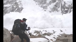 Avalanche Devours Hikers Within Seconds