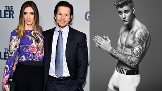Justin Bieber dissed by Mark Wahlberg's Wife!