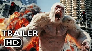 Rampage Official Trailer #1 (2018) Dwayne Johnson Monster Action Movie HD