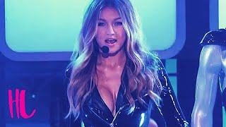 Gigi Hadid Insane Cleavage In Lip Sync Battle VS Tyler Posey