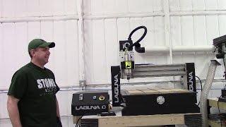 Laguna IQ CNC unboxing and setup