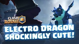 Clash Royale: Introducing Electro Dragon! (New Card!)