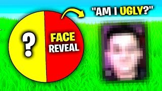Face REVEAL.. (Fortnite Spin The Wheel)