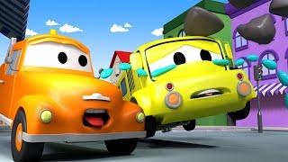 Lily der Bus 2  - Tom der Abschleppwagen in Car City 🚗 Cartoons für Kinder