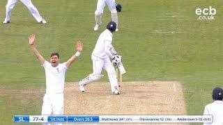 James Anderson takes 5-16 - England v Sri Lanka