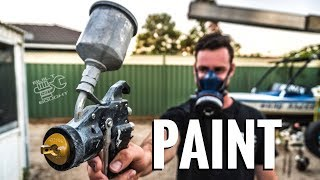 BUILT NOT BOUGHT Ep.7 || How To Paint Your 4WD For Under $500