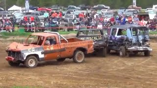 2013 Creston Demolition Derby - Pickup Trucks