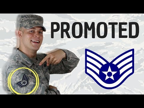 watch I made Staff Sergeant (E-5) in the United States Air Force