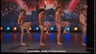 Boys Get Nude On Sweden's Got Talent To Perform The Crisp Bread Dance