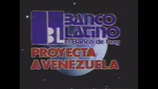 Comercial Banco Latino 1982 Venezuela