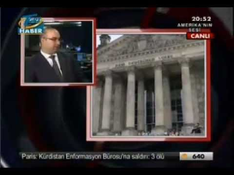 Cenk Sidar VOA/TGRT Interview (01/10/2013)