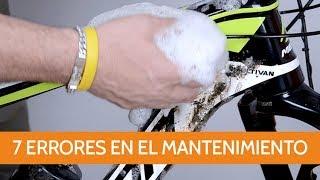 7 errores a evitar en el mantenimiento de nuestra bicicleta