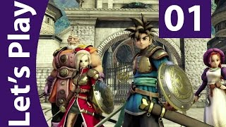 Let's Play Dragon Quest Heroes [Part 1] - PS4 Gameplay Walkthrough - English