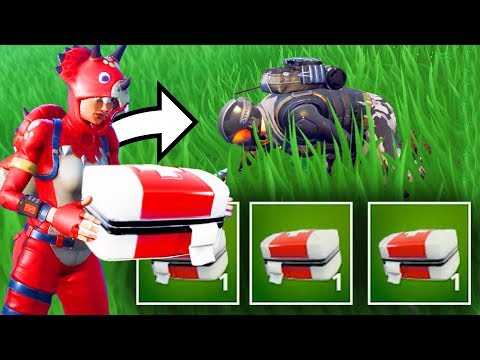NEW MEDIC ONLY MODE Challenge in Fortnite