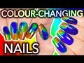 Download Video DIY Colour-Changing Nails with LCD screen ingredients?!? WILL I DIE?? 3GP MP4 FLV