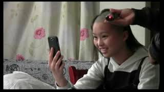 Chinese woman head shave