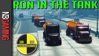 GTA 5  - Ron in the Tank - San Andreas Test Dummies Ep. 85 - GTA5 Mods and Funny Moments