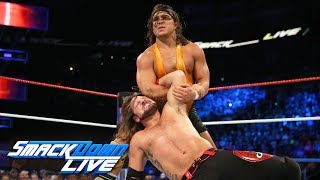 AJ Styles vs. Chad Gable: SmackDown LIVE, July 4, 2017