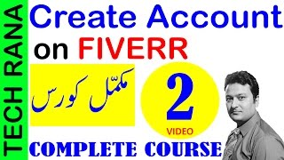 How to Create Account on Fiverr | Urdu Hindi | Video 2