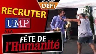 DÉFI : Recruter pour UMP à la fête de l'huma