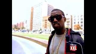 Kanye West XXL Magazine Cover Shoot BTS (October 2007)