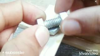 Life Hacks with nut and bolt